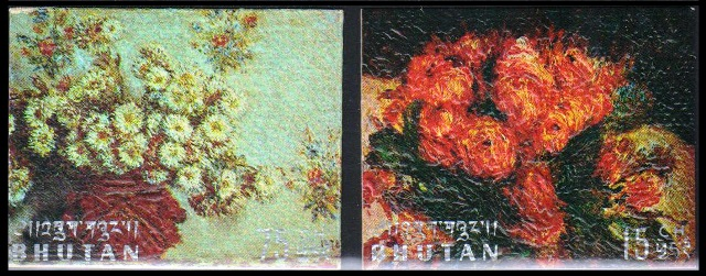 PAINTINGS ON THICK CARD EMBOSSED